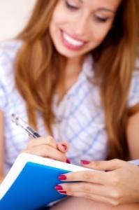 hair care regimen in hair journal