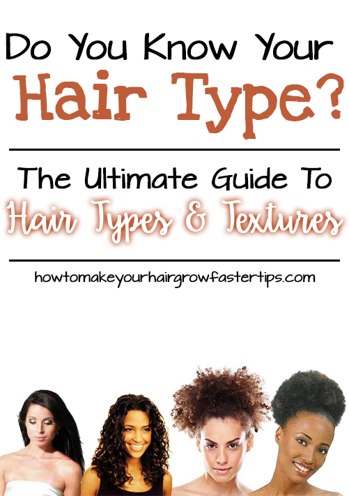 determine your hair type and texture