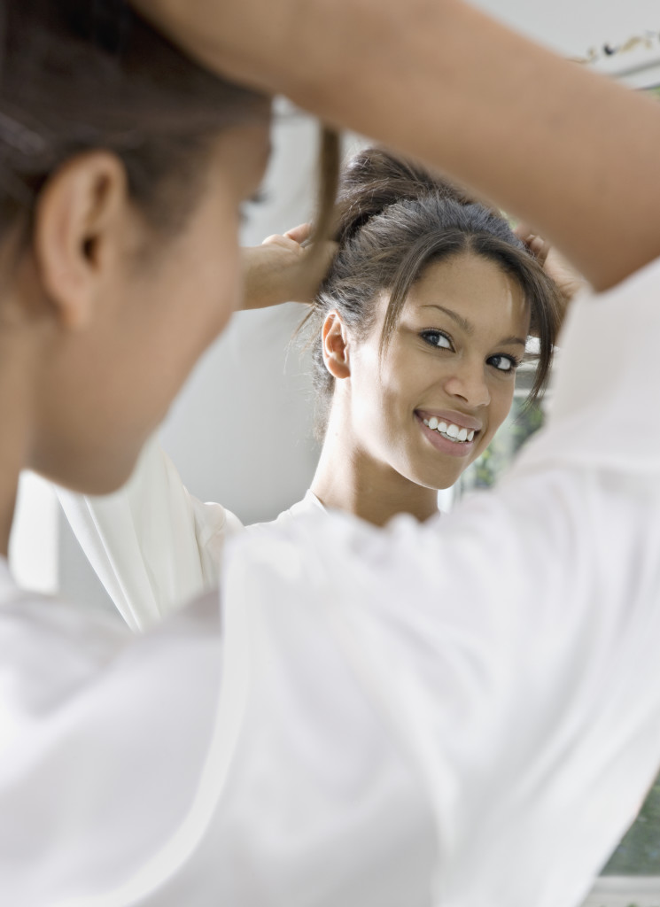 relaxed hair regimen