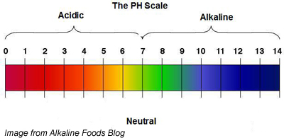 ph scale of hair