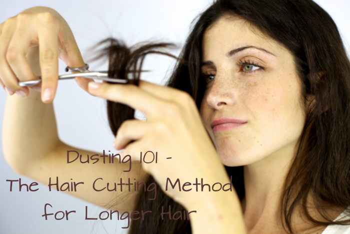 How to dust hair to make it grow longer