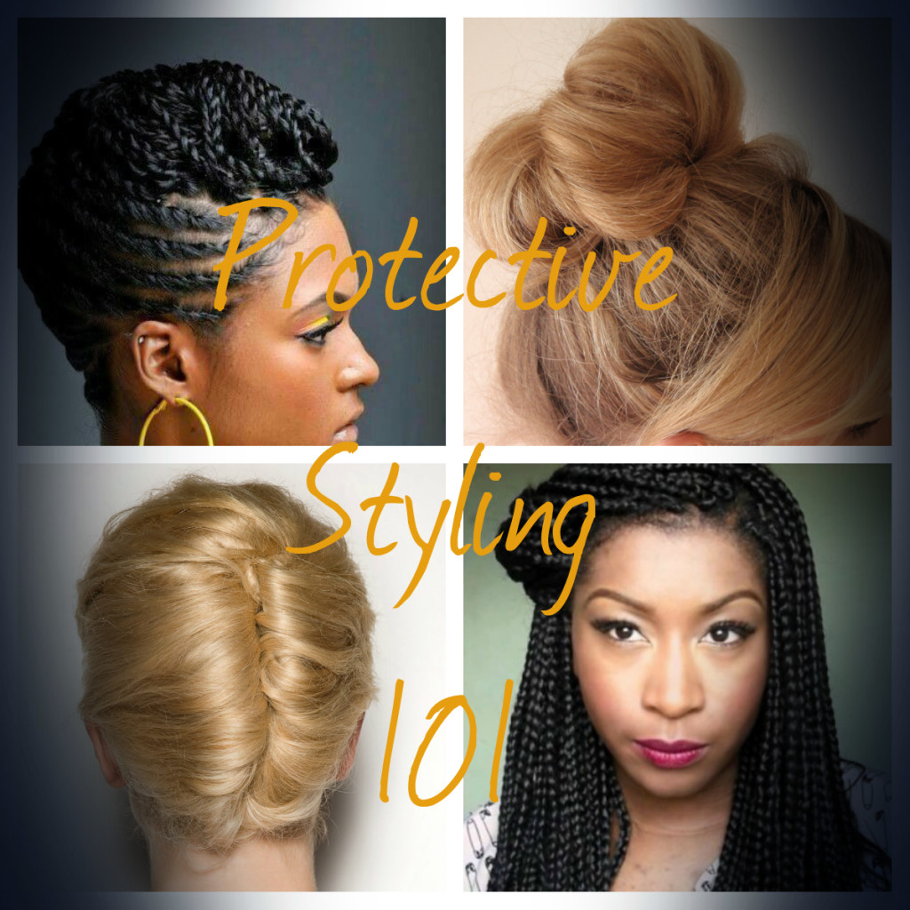 Protective styling 101 the best hairstyles for growing longer protective hairstyles to grow hair faster urmus Image collections