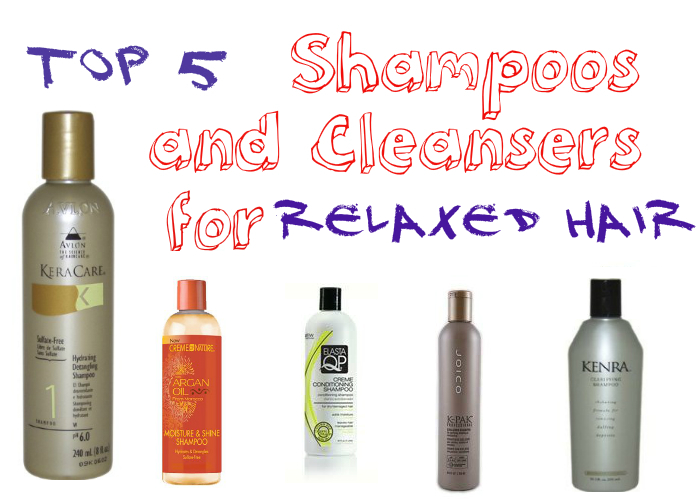 Top 5 Shampoos for Relaxed Hair