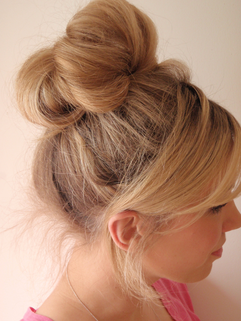 Braided Sock Bun Hairstyle