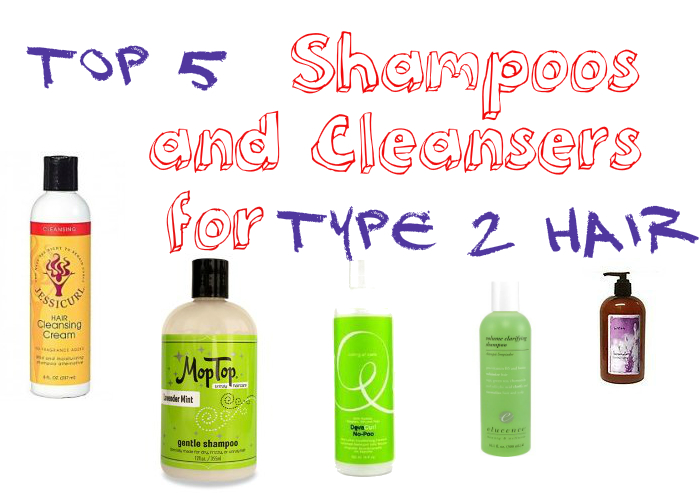 Top 5 Shampoos for Type 2, Wavy Hair
