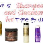 Top 5 Shampoos and Cleansers for Type 3 Hair