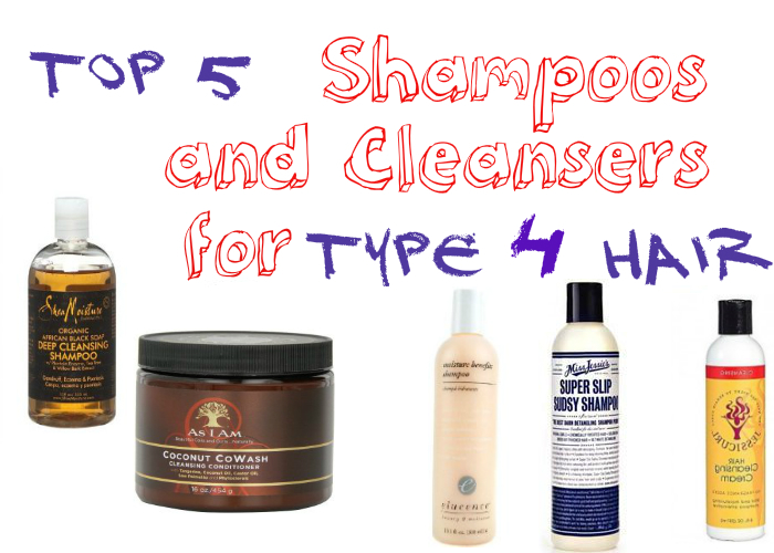 Top 5 Shampoos for Type 4 Hair