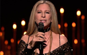 Barbra Streisand's smooth locks