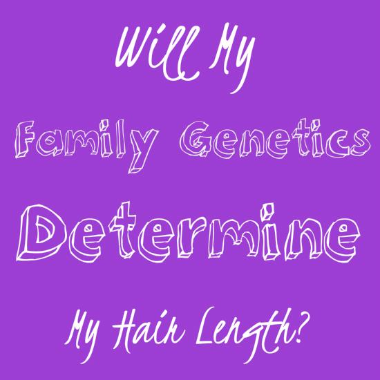 Do genetics determine how long hair can grow?