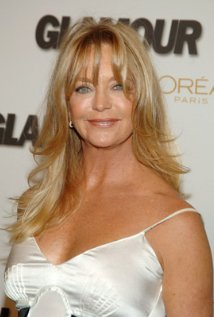Goldie hawn's long, golden locks