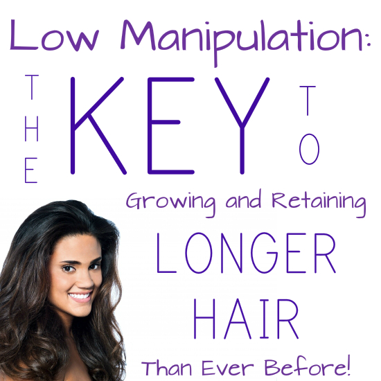 Low manipulation leads to longer hair