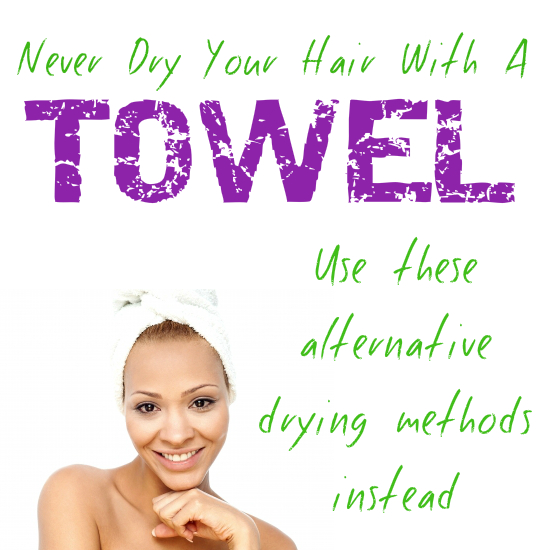 Cool Never Dry Your Hair With Towel And Use These Alternative Drying Short Hairstyles Gunalazisus