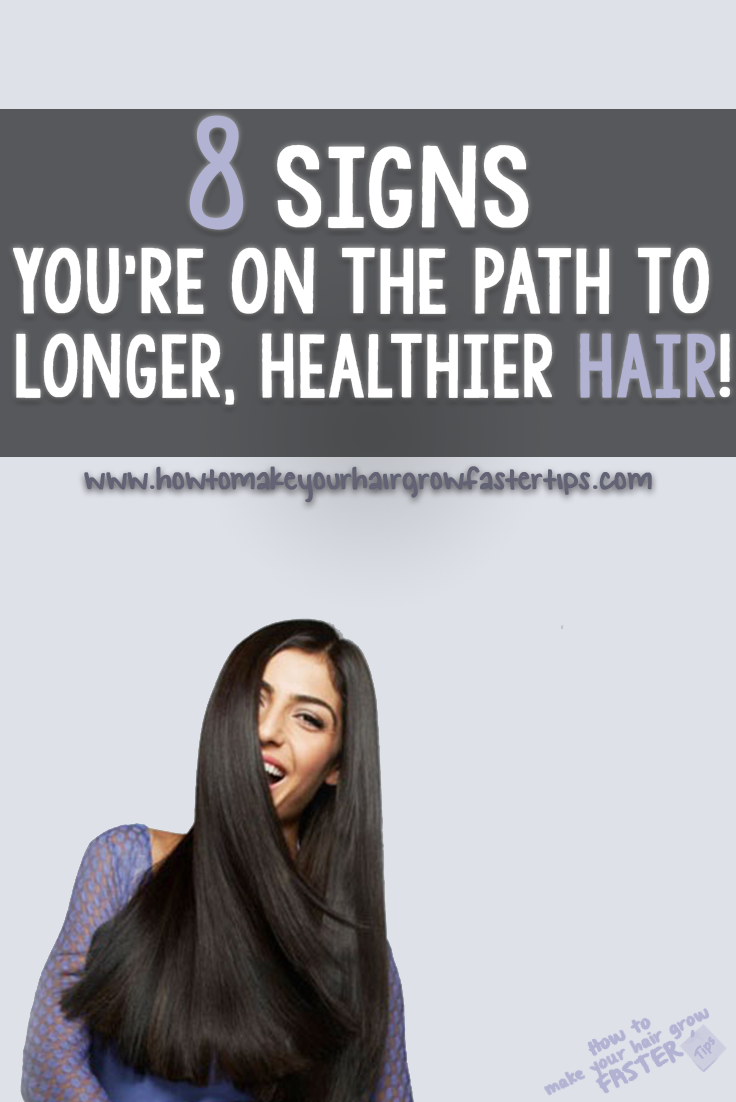 8 signs you're on the path to longer hair
