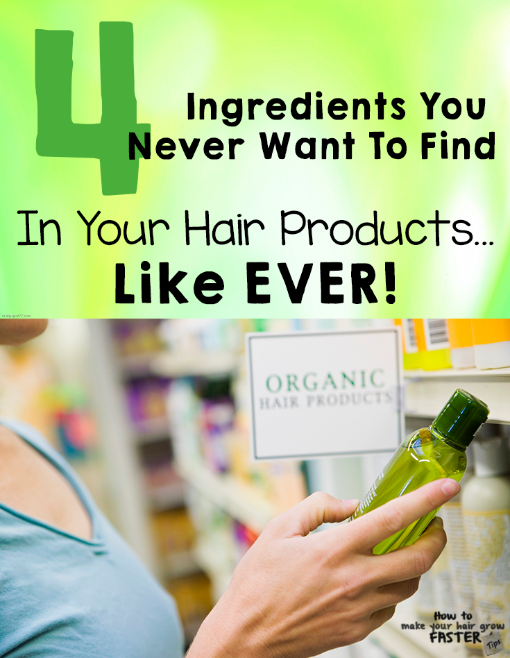 4 ingredients you never want to find in your hair products