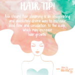 Hair Tip – Steam Your Hair For Increased Blood Flow & Hair Growth