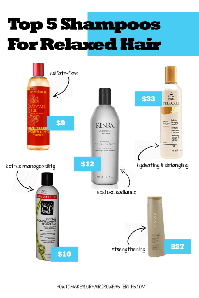 Top 5 Shampoos and Cleansers for Relaxed Hair | How to Make