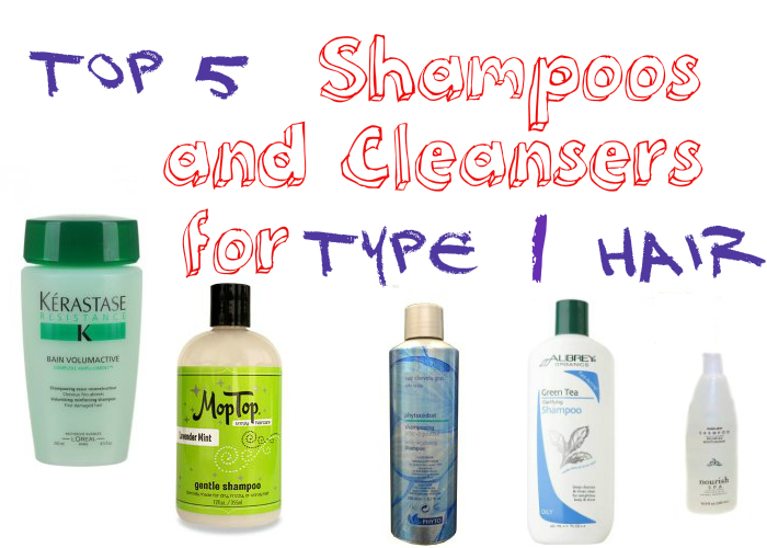 Top 5 Shampoos and Cleansers for Type 1 Hair