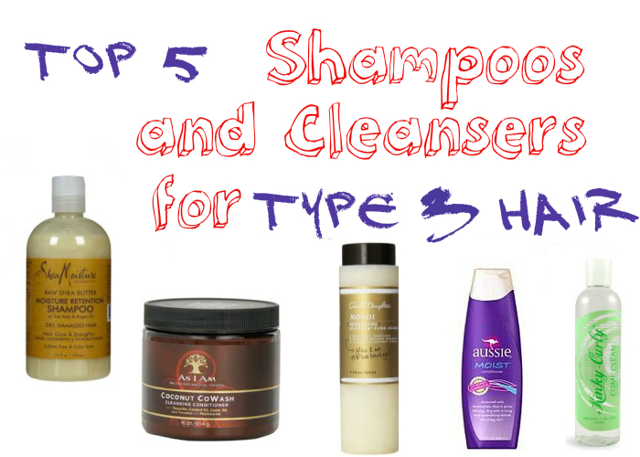 Top 5 Shampoos and Cleansers for Type 3 Hair | How to Make